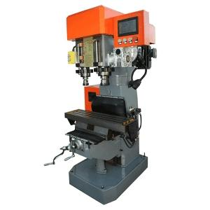 Wholesale servo: Dual Spindle Servo Control Drilling Tapping Machine(Screw Rod Feeding)