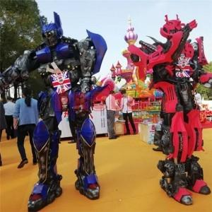 Wholesale transformer: Hot Sale Robot Model Transformer Coat Rides Apply for Amusement Parks, Commercial Complexes