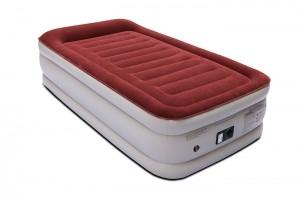 Wholesale air: Twin Air Mattress with Built-in Pump & Pillow, Raised Elevated Double High Airbed, 18