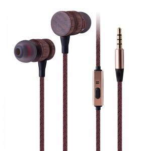 Wholesale Earphone & Headphone: Wooden Earphone