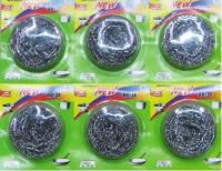 Suction Card Packing Steel Wire Ball