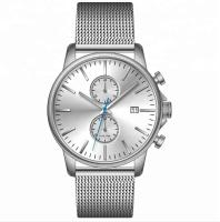 China Watch Factory Luxury Stainless Steel Chronograph Watches Men Wrist Watch Wholesale 5