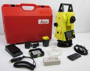 Wholesale m: Used Leica Builder R200M 6 Reflectorless Total Station