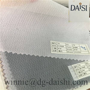 Wholesale woven interlining: Polypropylene Price Woven Fusible Interfacing K5000 Elastic Interlining Fabric for Garment