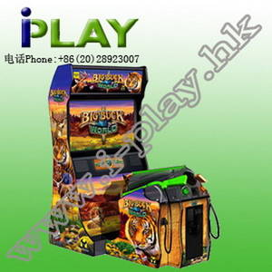 Wholesale amusement game machine: Big Buck World Shooting Amusement/Game Machine