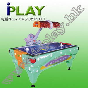 Wholesale coin: Elephant Hockey Table Coin Operated Amusement Game Machine