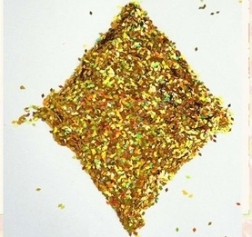 Wholesale water based pigment: Top Grade Flashing Golden Glitter Gold Series Glitter Dust