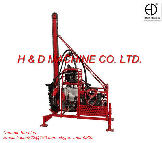 Sell HD-T40 Wagon wheel drilling rig