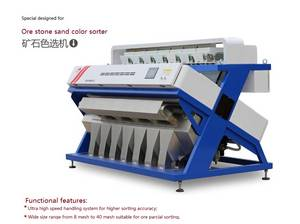 Wholesale ccd camera: Stone Color Sorter for Stone Sand or Small Size Stone Color Sorter Machine with CCD Camera