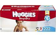 Sell Huggies Snug Dry Diapers Size 3 Economy Plus (222 count), Multi-Colored