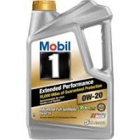 Mobil 1 Advanced Full Synthetic Motor Oil 0W-40, 5 Qt., Multicolor