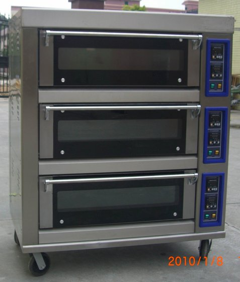 2 Layer Deck Oven Baking Gas Image
