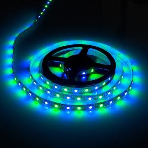 Wholesale flexible pcb 5050 strip: 5V 18W/M SK9822 Digtal RGB LED Strip 60LED/M