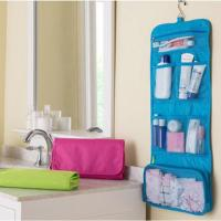 Hanging Organizer Bathroom Storage Travel Makeup Cosmetic and Toiletry Bag