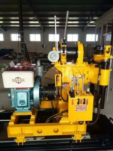 Wholesale hydraulic drill rig: Easy Move Crawler Type Water Drilling Rig Machine with Hydraulic Automatic Feed Mechanism