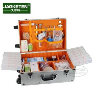Wholesale multi function: JACKETEN Aviation Aluminum Multi-Function Medical First Aid Kit JKT031