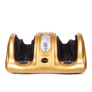 Wholesale shiatsu massager: Foot Massage Roller Machine Tool Relacant Shiatsu Guasha Physiotherapy Equipment Leg Massager