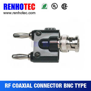 Wholesale banana plug: View Larger Image BNC Plug To Banana Plug Nickel Bullet Banana Connector Plug for RC Battery Share