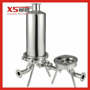 Wholesale Filters: Customize Sanitary Stainless Steel Single Cartridge Filter