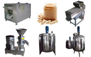 Wholesale peanut roaster: High Efficiency Peanut Butter Production Line
