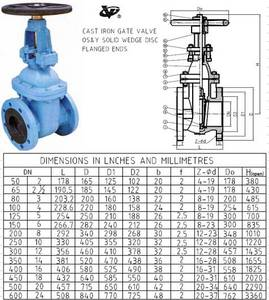 Wholesale bs flange: OS&Y Gate Valve BS5150 PN16 & BS5163 Cast Iron Flanged Ends