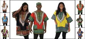 Wholesale borders: Traditional Print Dashiki