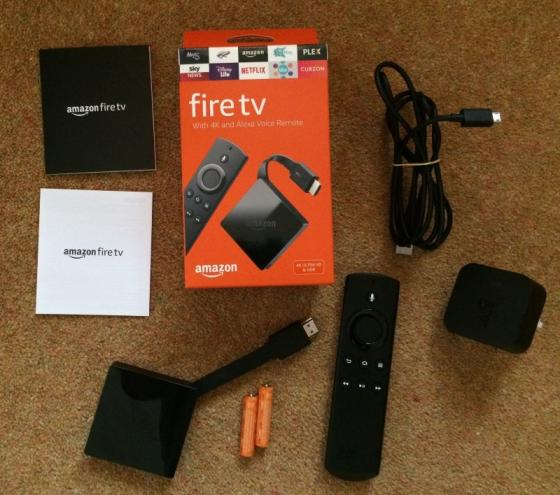 Amazon Fire TV with Alexa Voice Remote Media Streamer 3rd Generation Black