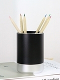Wholesale makeup sponge: Aluminum Alloy Round Pen and Pencil Holders for Desk or Makeup Brush Holders