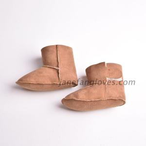 Wholesale boots: Real Sheepskin Prewalker Baby Snow Boots