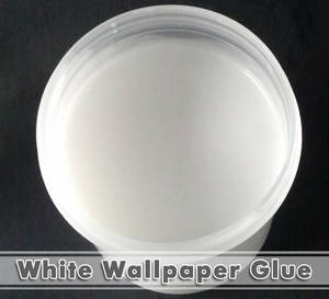 Wholesale white glue: Decoration Material White Wallpaper Glue
