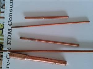 Wholesale tungsten electrode: Copper Tapping Electrode,COPPER TUNGSTEN TAPPING ELECTRODE