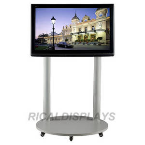 Wholesale universal tv stand: Mobile TV Stand with Locking wheels