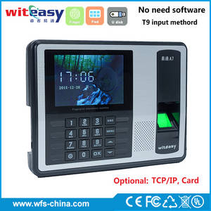 Wholesale cartoon usb: Fingerprint Time Attendance Machine A7