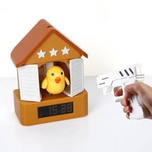 Wholesale cuckoo clock: Hot-selling Funny Cuckoo House Clock with Gun
