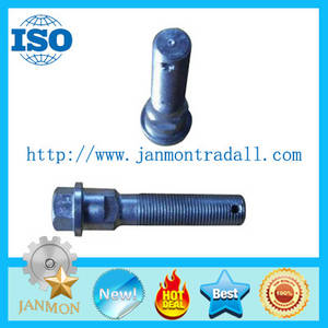 Wholesale Bolts: Customized High Strength Hex Bolts with Hole for Tractor