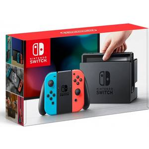 Wholesale red console: Nintendo Switch (Neon Blue / Neon Red)