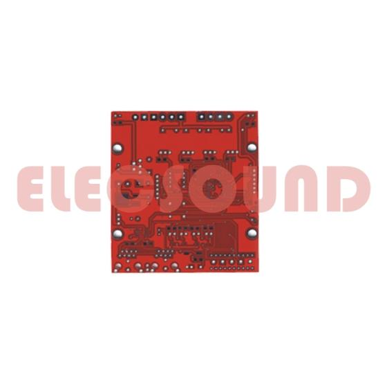 Sell Electronic parts FR4 double layer remote control pcb