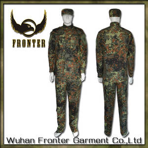 Wholesale military jungle boot manufacturer: Whfronter WW2 German Jungle Camouflage Military Uniforms