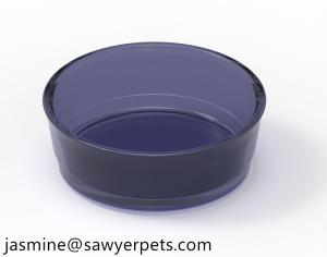 Wholesale pdms: Transparent Bowl Container of Water Crystal High Quality Plastic Injection