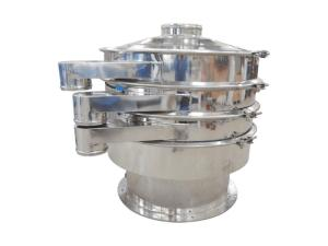 Wholesale condiment: Fishfeed Crumbles Fruit Pulp Condiment Electric Circular Vibrating Sieve Machine for Tea Powder