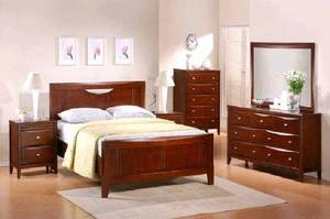 Wholesale Bedroom Sets: JDB 7017 TRANNON BEDROOM SET