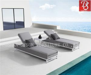 Wholesale lounge bed fabric: Hot Sale Modern Leisure Lounge Bed Sun Bed Lounge Chair Beach Chair