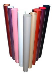 Wholesale colorful pvc film: High Gloss Solid Color Decorative PVC Film