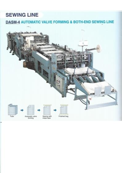 Automatic Value Forming & Both Sewing Line