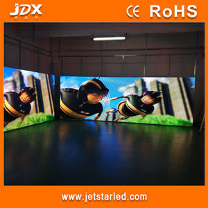 Wholesale full color led display: Indoor P4.81 Full Color Rental LED Display Screenwith Die-casting Cabinet 500x1000 Mm