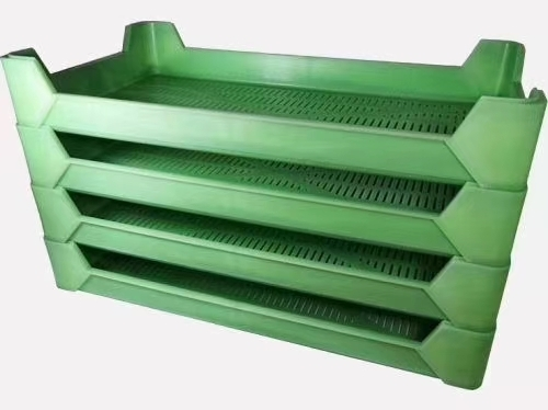 Sell air flow drying plastic stacking tray