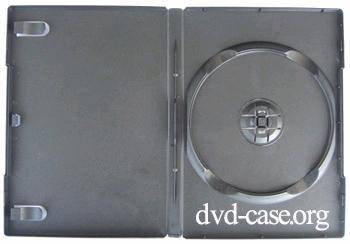 14mm Automatic Packing DVD Case Single Black