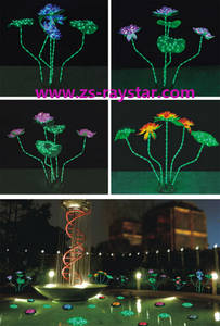 Wholesale lamp: Zhongshan  Lotus Lamps with 15w 220v for Park