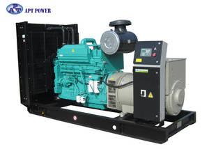Wholesale denyo generator: Container Cummins Engine Stamford Diesel Generator , 250kVA Diesel Generator 50Hz