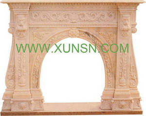 Wholesale Other Stone Carving & Sculpture: Fireplace
